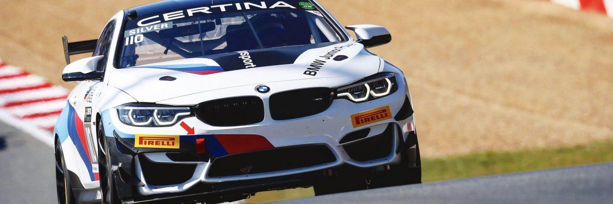 Zolder (BEL), 6.-8. April 2018. GT4 European Series, Round 1, #110 RN Vision STS, BMW M4 GT4: Beitske Visser (NED), Nico Menzel (GER).